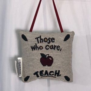 Other - Hanging teacher pillow